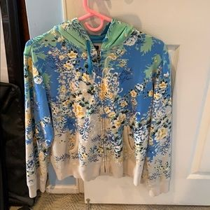Lucky Brand Allover Print Sweatshirt